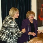Candidate Betty Richardson and Rep. Elaine Smith