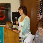 AAUW ID Co-president Bonnie McKay Pfaff