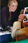 Gloria Steinem at AAUW Convention, photo by Janet House