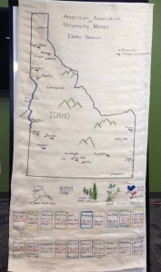 historical map of Idaho branches