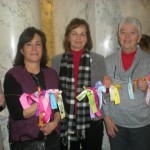 Human Rights Lobby Day 2014: Kathy Haley, Bonnie Pfaff, Carol Stirling