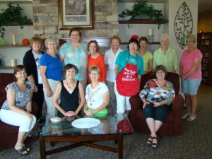 photo of board members in Boise 2012 and Lisa Maatz, AAUW