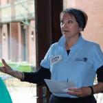 Sylvia Chariton at Equal Pay Day event 2015