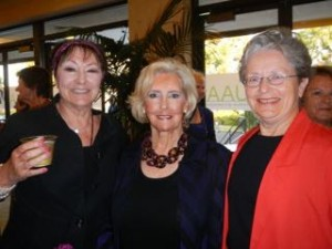 Sylvia Chariton, Lilly Ledbetter and Julie Custer at national convention 2015