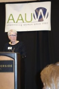 AAUW Idaho President Kathy Scott