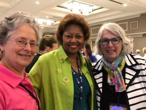 Custer, Brown, Scott at 2017 National Convention